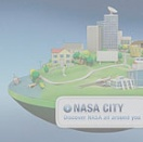 NASA - Home + City Interactive Animated Website