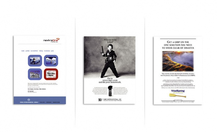 Assorted Full Page Ads - 1