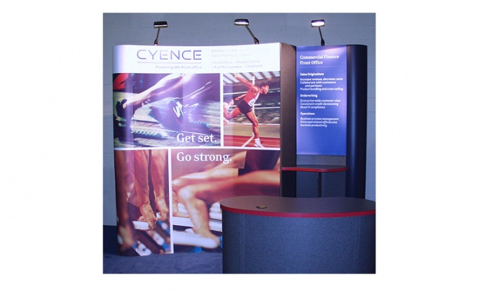 Cyence International - Display Booth Graphics