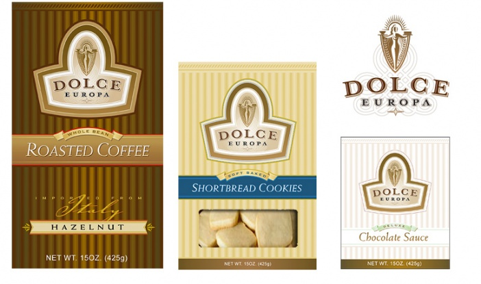 International Gourmet Foods - Dolce Europa Product Branding