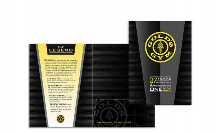 Gold's Gym - Commemorative Print Campaign