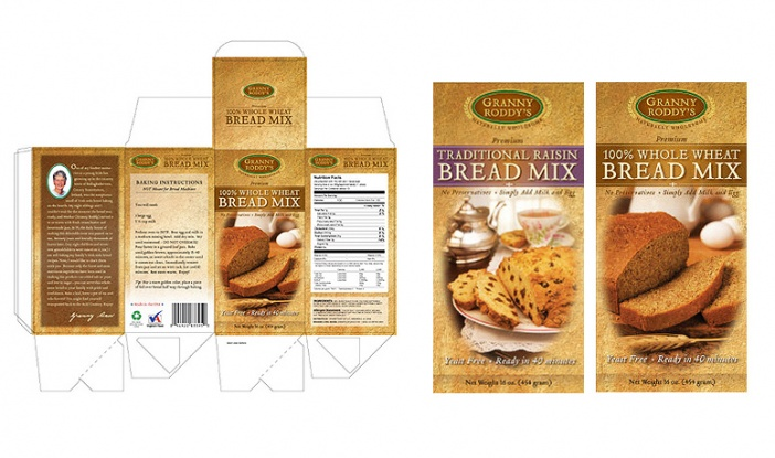 Granny Roddy's - Retail Food Package Design