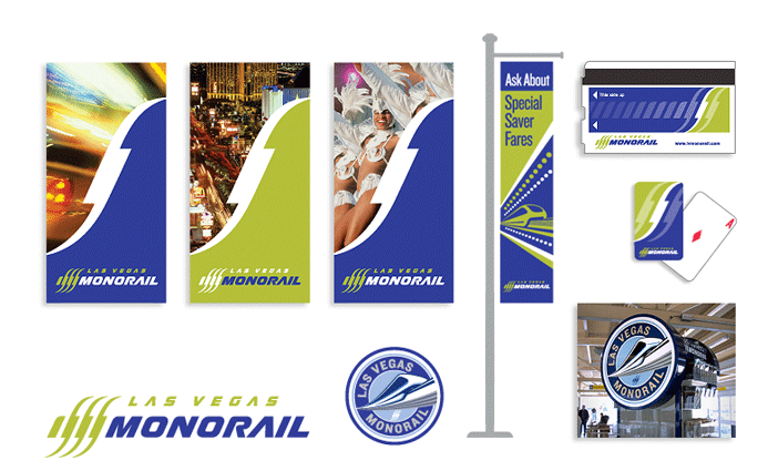 Las Vegas Monorail - Branding & Display Graphics