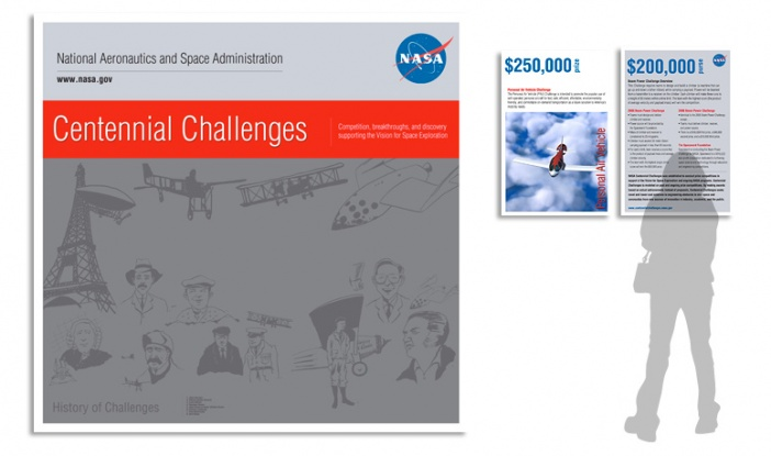 NASA - Centennial Challenges Exhibit and Materials
