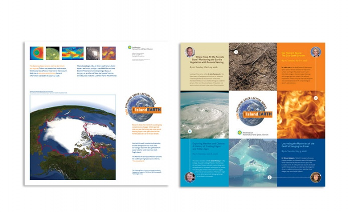 National Air and Space Museum - This Island Earth brochure/poster