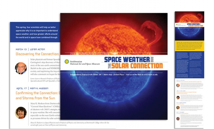 National Air and Space Museum - 2008 Exploring Space Lectures Brochure