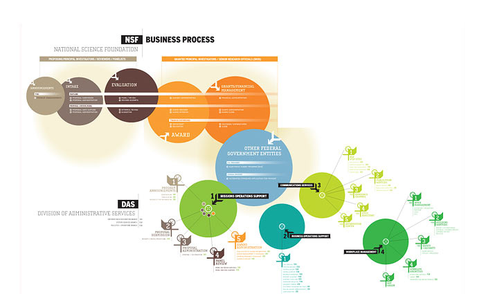 National Science Foundation - Business Process Info-graphic
