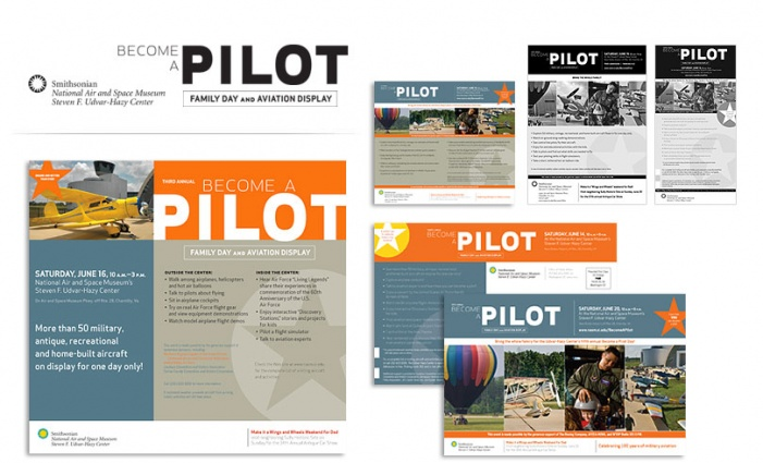Smithsonian Institution National Air + Space Museum - Become a Pilot Campaign