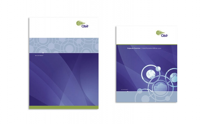 Qbit - Brand Identity, Website and Print Collateral