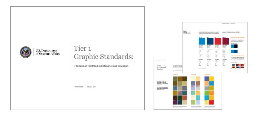 US Department of Veterans Affairs Graphic Standards Guide