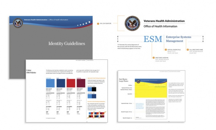 Department of Veterans Affairs Office of Health Information - Graphic Standards for Government